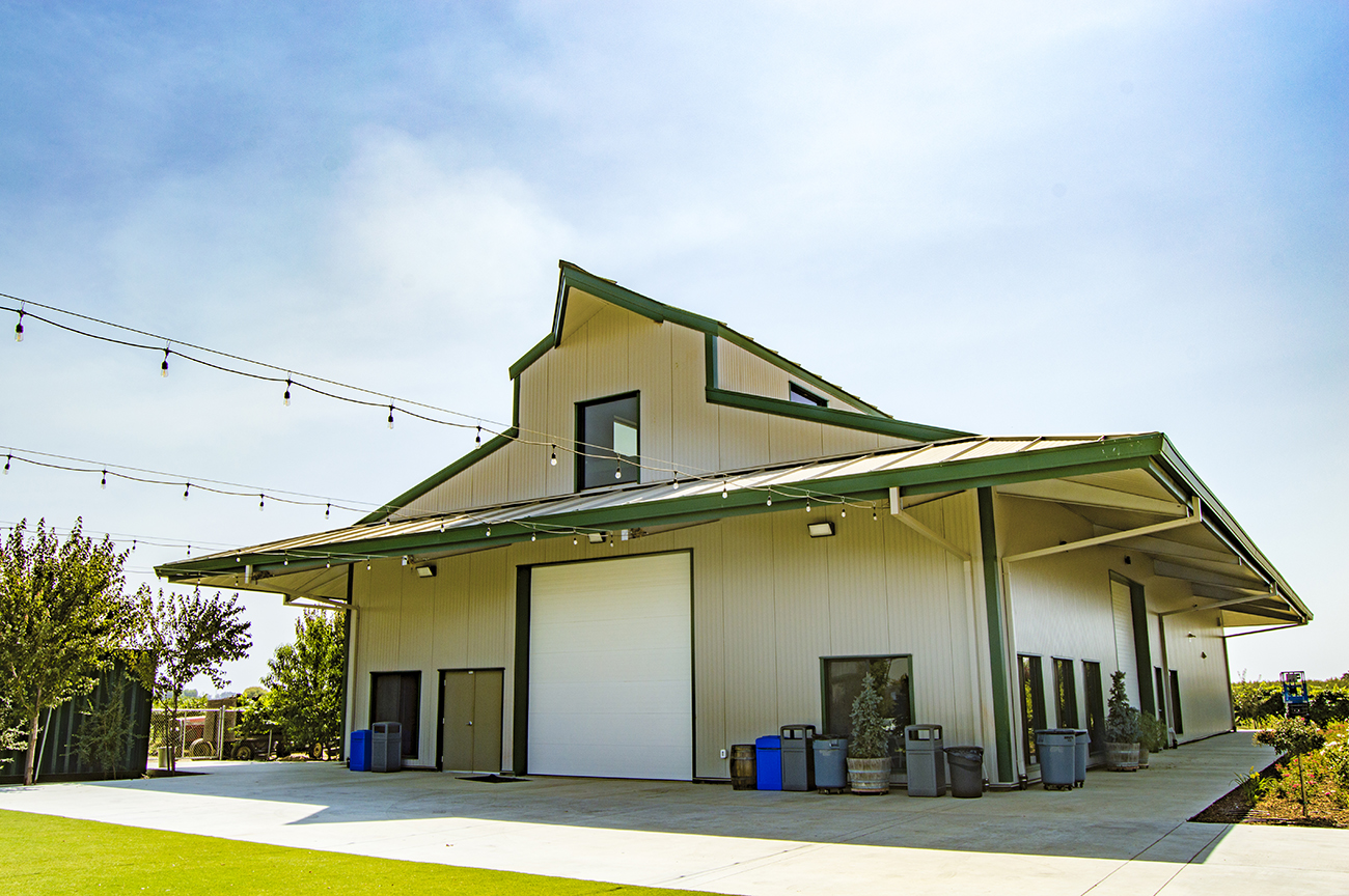 Winery Steel Building Construction Kingsburg Ca Yanez Construction